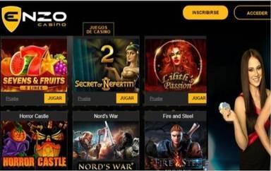 Giros gratis en Enzo Casino