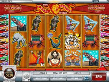 5 Reel Circus tragamonedas