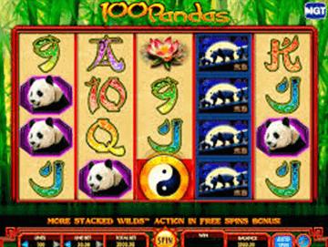100 pandas tragamonedas