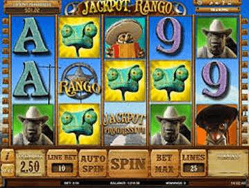 Jackpot Rango tragamonedas