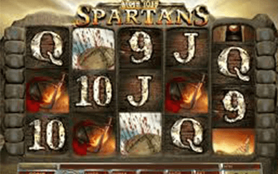 tragaperras Age of Spartans