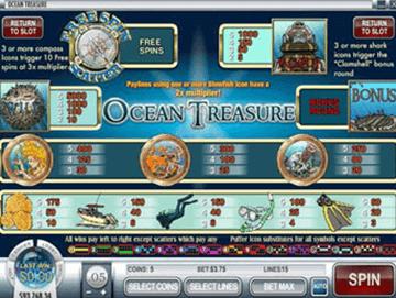 Ocean´s Treasure tragamonedas