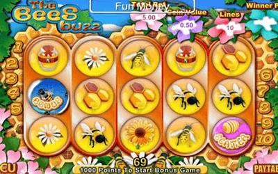 tragaperras Bees Buzz