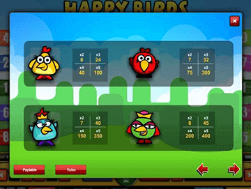 Happy Bird tragamonedas