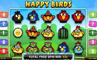 tragaperras Happy Bird