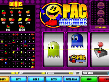 Pac Machine tragamonedas