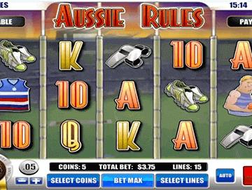 Aussie Rules tragamonedas