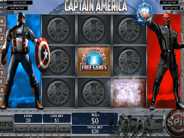 Capitán América tragamonedas