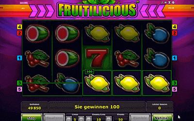 tragaperras Fruitilicious