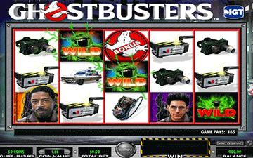 tragaperras Ghostbusters