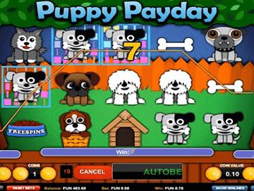 Puppy Payday tragamonedas