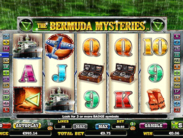 The Bermuda's Mysteries tragamonedas
