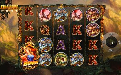 tragaperras King Kong Fury