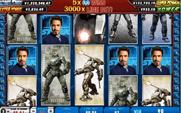 tragaperras Iron Man 2