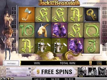 Jack and the Beanstalk tragamonedas