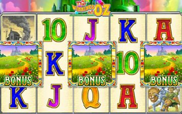 Slot The Winnings of Oz