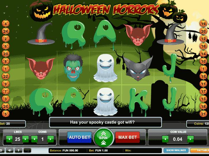 halloween horrors iframe