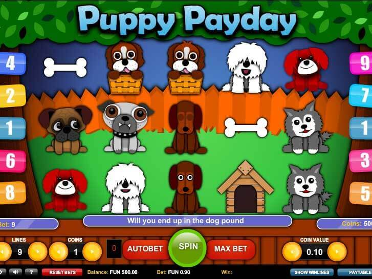 puppy payday iframe