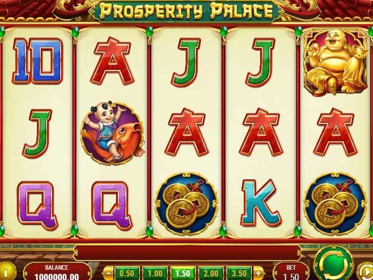 prosperity palace iframe